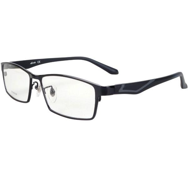 Titanium optical eyeglasses frames men super lightweight oversized for prescription glasses