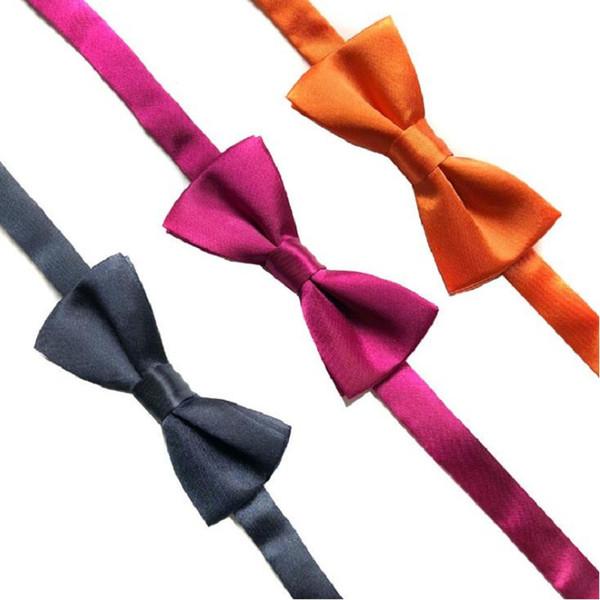 garoto bow tie crianças borboleta gentlmen bowknots 5 pçs / lote