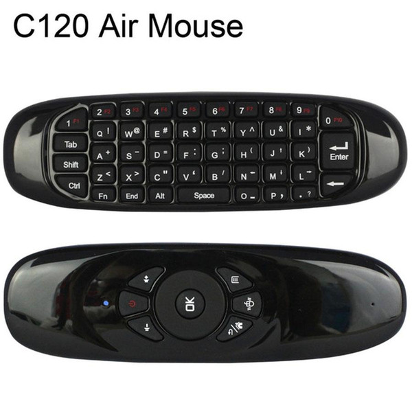 C120 Fly Air Mouse Rechargeable 2.4GHz Mini Wireless Keyboard for Smart TV Box Mini PC