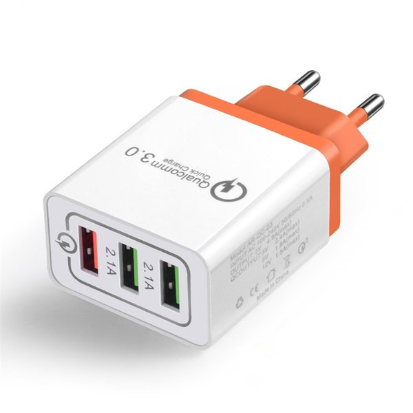 Univer al 18w 5v 3a u b quick charge 3 0 for iphone eu u plug fa t charger for am ung 10 huawei