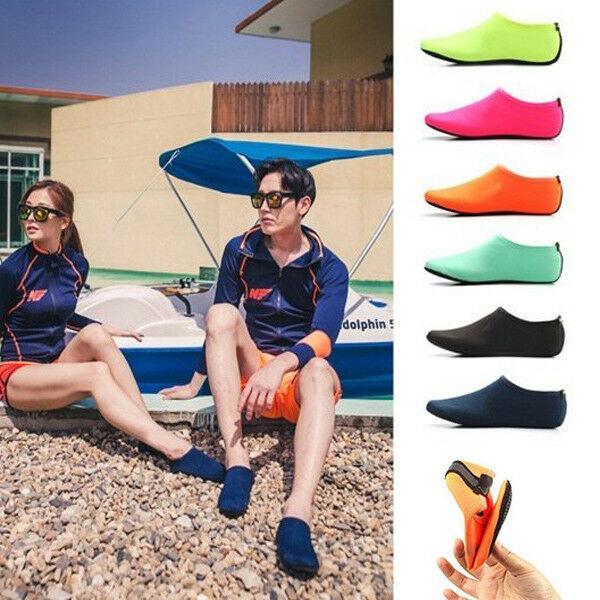 Deportes acuáticos Buceo Calcetines Niños Adultos antideslizante Calcetines de playa Tela transpirable Secado rápido Natación Surfing Wet Suit Shoes MMA1728