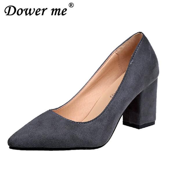 Großhandel Designer Kleid Schuhe 2019 Damen High Heels Pumps