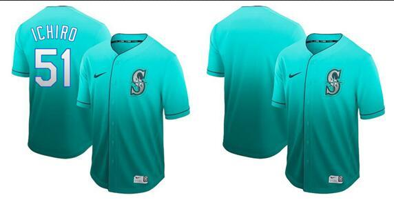 2019 Hot Style Men Women Youth Mariners 51 Johnson 24 Griffey Green Elegant And Fashionable ro Cooperstown Batting Practice Baseball Jersey