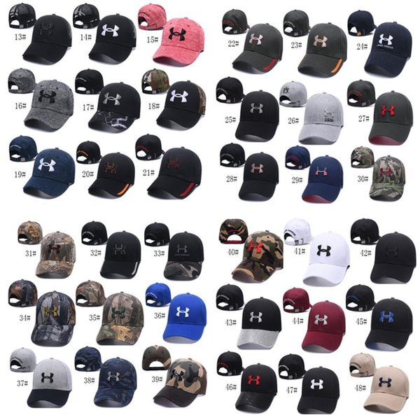 Unisex U A Baseball Ball Cap Casquette Men Women Visor Caps Snapbacks Casual Hat Sports Hip-hop Cap Camouflage Adjustable Hats Summer Sunhat