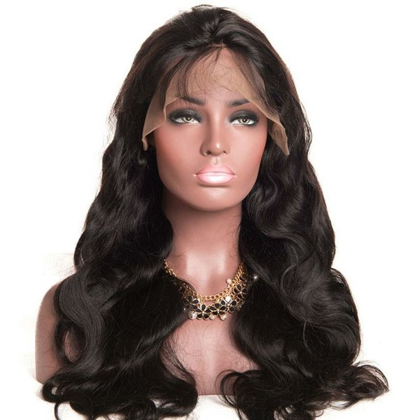 Body Wave Full Lace Human Hair Wigs With Baby Hair Body Wave Full Lace Virgin Human Hair Full Lace Wigs For Black Women
