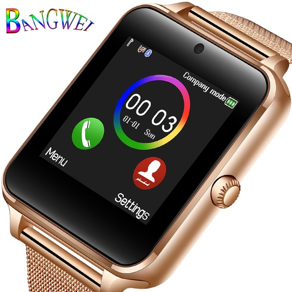 Bangwei 2019 New Smart Watch For Men And Women Sports Smart Watch Sleep Monitoring Pedometer Connected To Bluetooth MX190716
