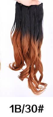 cabelo 1B / 30 onda naturais 3pcs