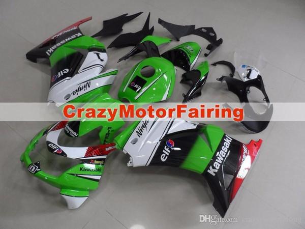 3 regalos gratis Nuevos kits de carenado para KAWASAKI Ninja250R 250R EX250 2008 2009 2010 2011 2012 Ninja set carenados carrocería + cubierta del tanque fresco