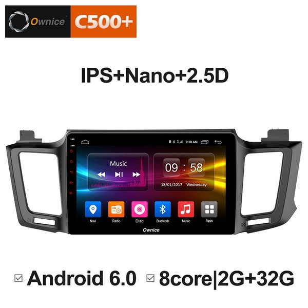 """10.1"""" 2.5D Nano IPS Screen Android Octa Core/4G LTE Car Media Player With GPS RDS Radio/Bluetooth For Toyota RAV4 2013-2016 #3054"""