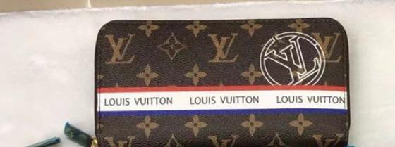 2019 nueva cartera con cremallera estampada para hombres y mujeres lujosa bolsa de tarjeta de visita de cuero de alta calidad de moda titular de tarjeta de billetera clásica larga packe