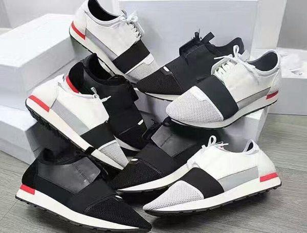 2019 Ucuz Satmak Yüksek Kalite Paris Ünlü Marka Rahat Ayakkabılar Kanye West Erkek Kadın Moda Düşük Üst Sneakers Hakiki Deri Tasarımcısı Erkek Ayakkabıları
