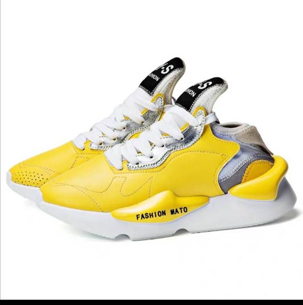 Nuevos hombres Ocio Moda Ejecución Celebridad Diseñador Varios zapatos Malla Ninja Negro Samurai Y3 Zapatos de hombre Estación europea en Pareja Zapatos