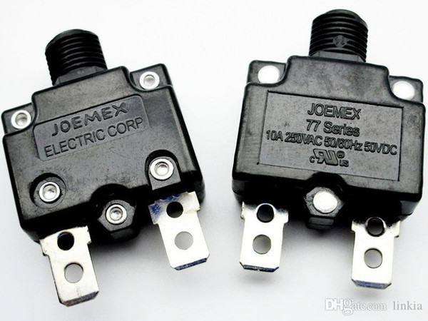 best selling Taiwan JOEMEX 77 Series overcurrent protector 10A 250VAC 50VDC