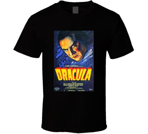 Dracula Original Poster Vintages Horrorfilmplakat Fan T Shirt