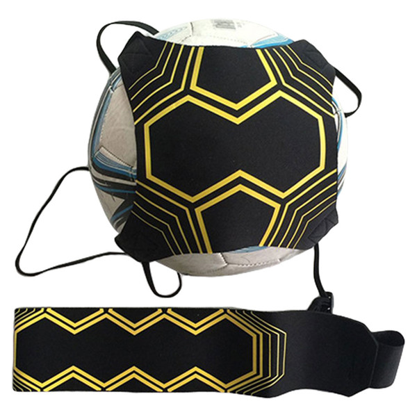 Professional Sports Assistance Adjustable Football Trainer 94cm Soccer Ball Practice Belt Training Equipment Kick Accessories