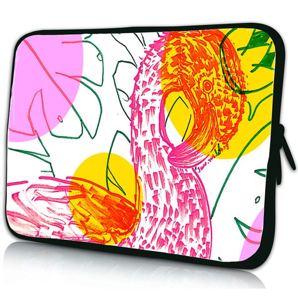 Flamingo Cute Laptop Bag 10