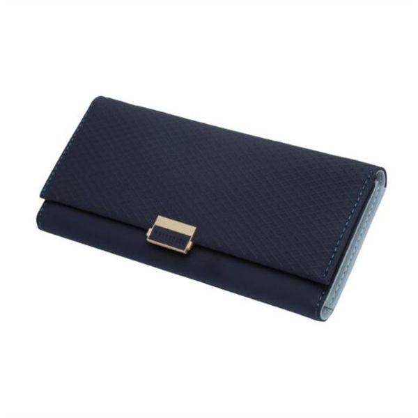 Madonno Lady Clutch Handbag Checkbook Tassel Purse Femmes Long Portefeuille en cuir Q190505
