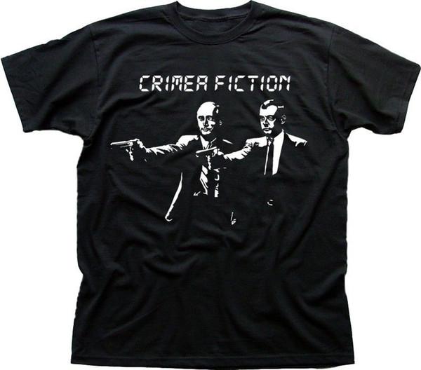 CRIMEA PULP FICTION POUTINE RUSSIE UKRAINE SOVIET t-shirt imprimé dissident 9592