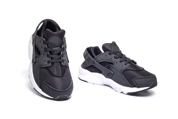 Wholesale Cheap Running Shoes 2018 New Huarache 3 Kids High Quality Wallace Hot For Sale Walking Sports Shoes Free Shipping