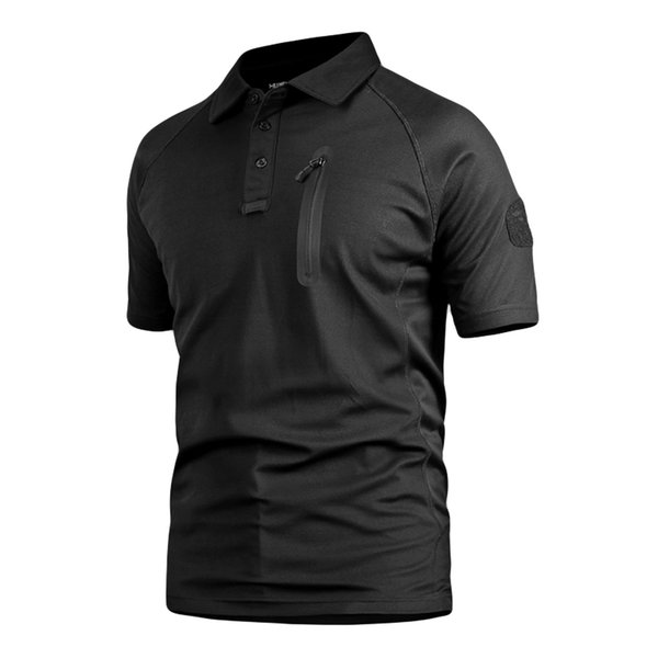 Men Short Sleeve Fast Dry Pullover Lapel T Shirt Tops Outdoor Tactical Camping Climbing Breathable Camouflage T-shirt Undershirt C19041201