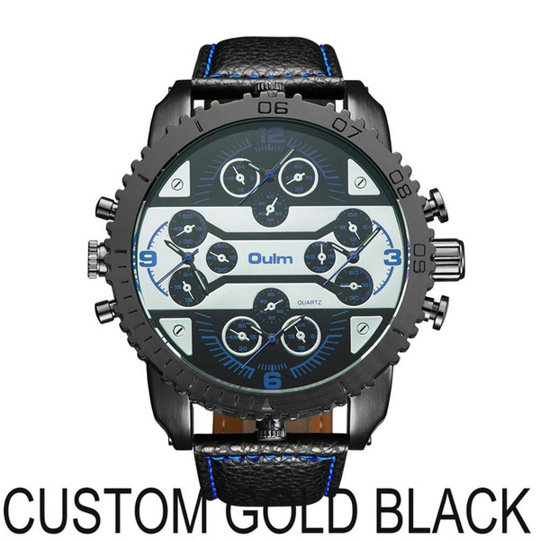 CUSTOM GOLD BLACK
