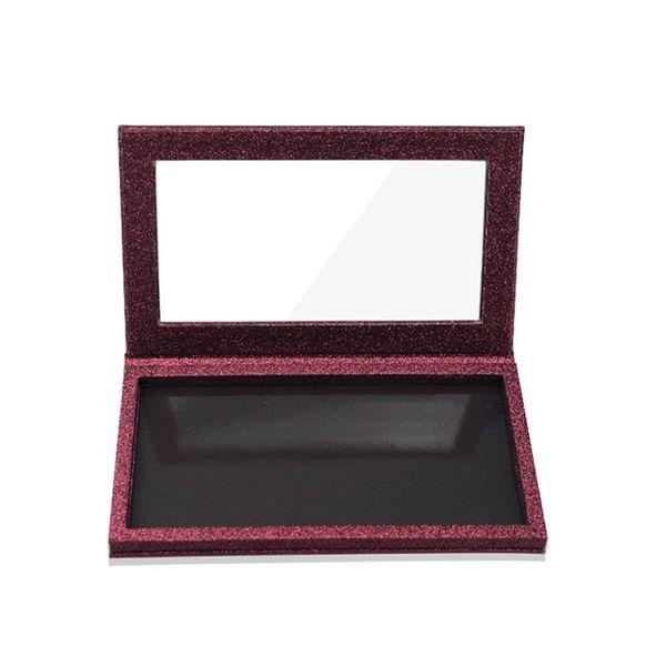 DIY Empty Magnetic Eyeshadow Palette Glitter Fashion Powder Blusher Lipstick Lip Gloss Fundation Eye Shadow Makeup Storage Tool
