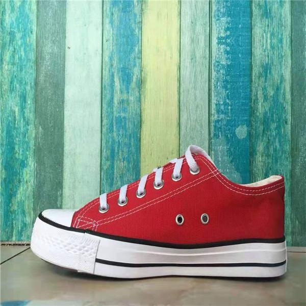 22-Red Low Top