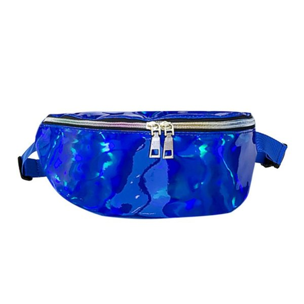 Cheap Crossbody bags for women Pockets Women Fashion Laser Leather Messenger Shoulder Bag Chest Bag Drop shipping A0802#30