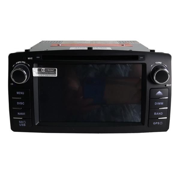 nuovo lettore DVD per auto gratuito per Corolla E120 2003 2004 2005 2006 2007 2008 navigatore GPS bluetooth gps Supporto telecamera