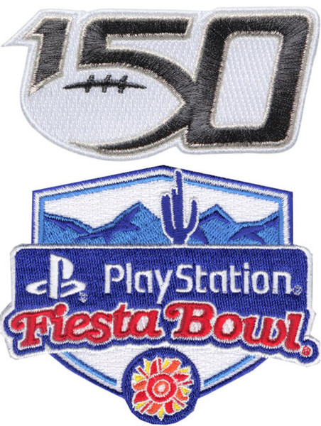 150TH & Fiesta Bowl Patches