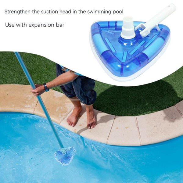 2019 Swimming Pool Cleaner Vacuum Head Flexible Durable Pool Brush Cleaning  Equipment Underwater Cleaner Sewage Suction Accessor From Miaoshakuai, ...