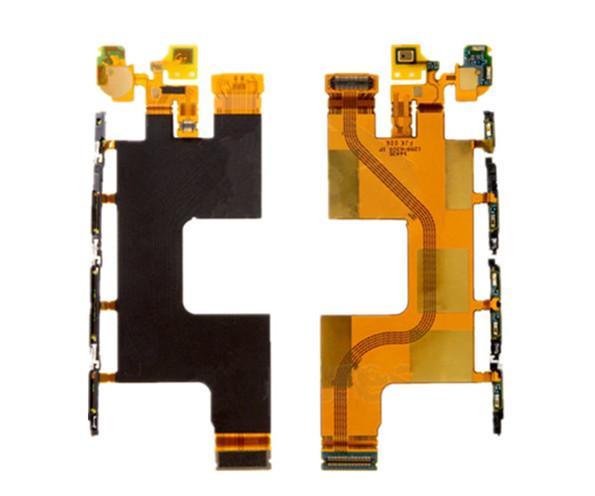 Câble flexible de haute qualité pour carte mère Sony E6553 Z3 + Z4 (LCD avec composants) câble pièces de rechange