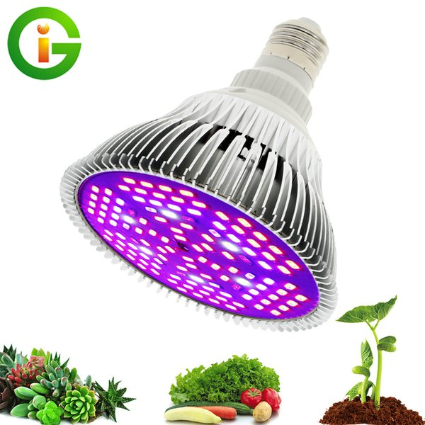 led grow light full spectrum 30w/50w/80w e27 uv ir led growing bulb for indoor hydroponics flowers plants led growth lamp