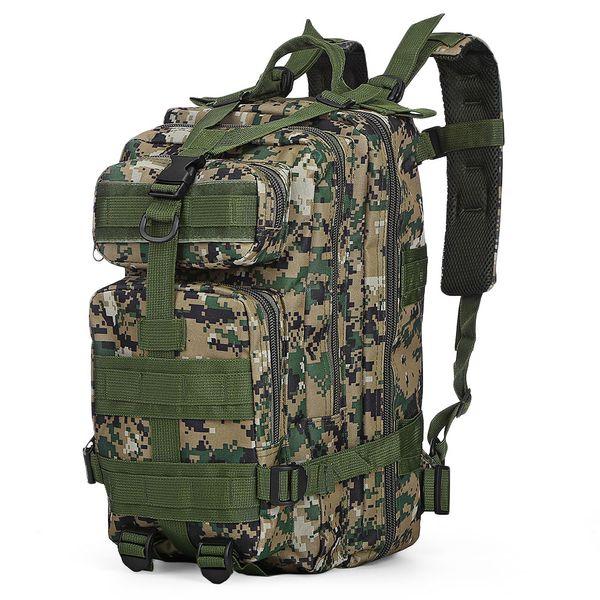 30L 3 P Mochila Tático Oxford Saco Do Esporte Caça Assault Camuflagem Saco Ao Ar Livre Para Camping Caça Caminhadas Trekking