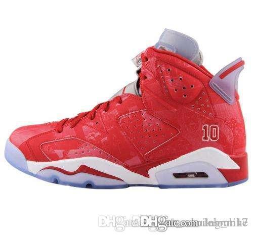 Дешевые женщины Jumpman 6 VI Баскетбол обувь 6S Slam Dunk Metallic Gold CNY Китай Новый год AJ6 кроссовки ботинок для молодежи детей мальчиков девочек с коробкой