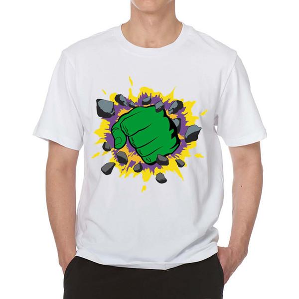 Harajuku Elektrohand lustige T-Shirt ästhetische Männer Sommer 2019 Weiß Graphic Tee Kleidung Anime-Shirt Gothic Tops Street