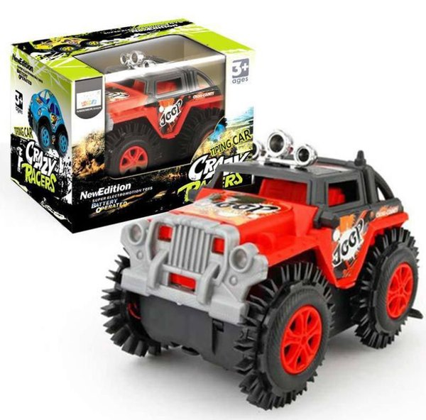 2019 new stunt car dumper non-remote control car off-road turning electric car racing boy toy free shipping box