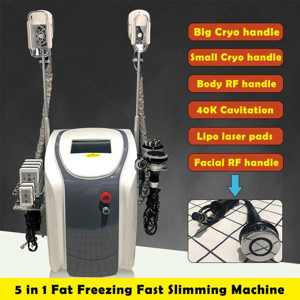 Venta caliente Original Zeltiq Cryolipolysis Congelación de Grasas Máquina de Adelgazamiento Crioterapia Cara RF Ultrasonido Liposucción RF Lipo Máquina Láser