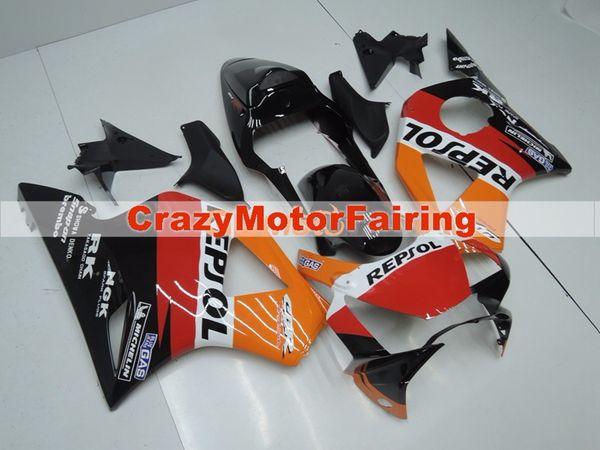 New Injection ABS motorcycle fairings kit for HONDA CBR 954RR 954 2002 2003 CBR954RR 02 03 CBR 900RR fairings parts custom orange red repsol