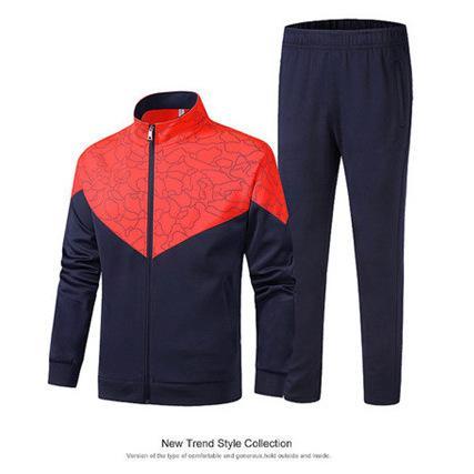 Марка костюмы куртка + брюки костюмы толстовки комплекты пальто Ветровки Куртки и заплатки Спорт Бег Gym Активный Jogger Outfit Orange B101021L