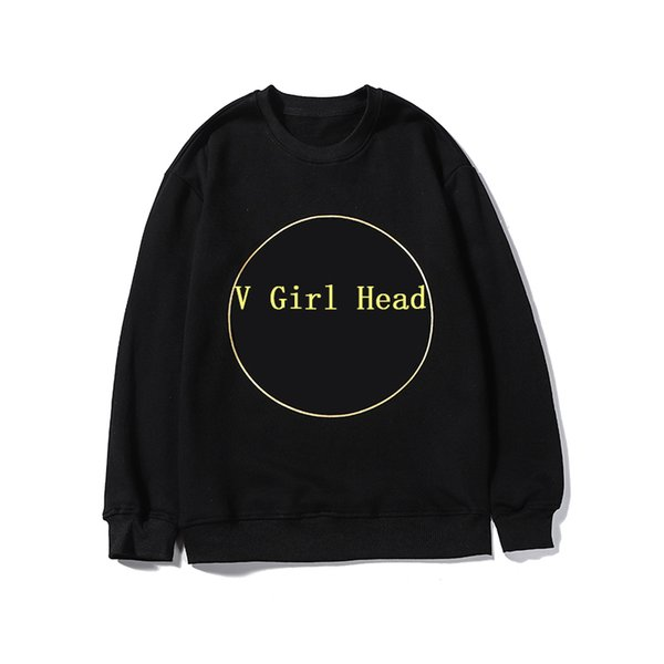 Designer Men Brand Hoodie Luxury Basketball Wearing Brand Simple Girl Head Pattern with Character Platform Hot Size From M To 2XL Two Color