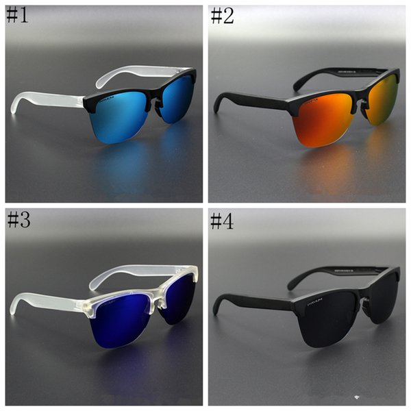 best selling Outdoor Eyewear Frogskin 4 colors Cycling Glasses Polarized Sunglasses Men Sport Sunglasses Half Frame Glasses ZZA366