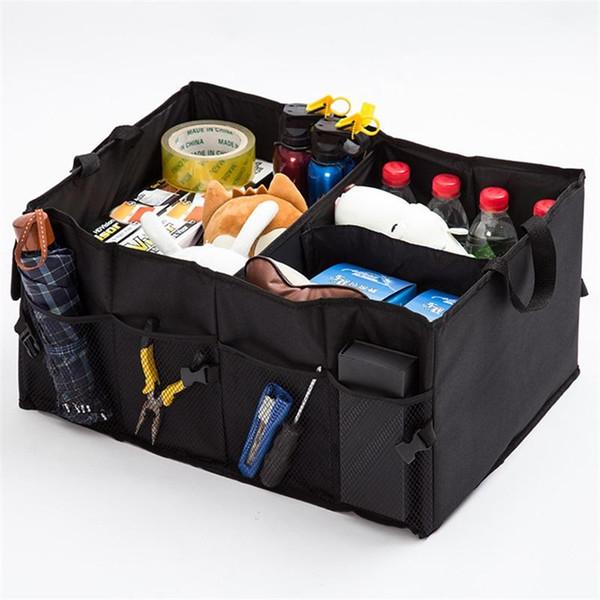 Car Trunk Storage Speedy Bag Waterproof Multi Function Folding Organizer Toy Storages Box Black 12 54bm p
