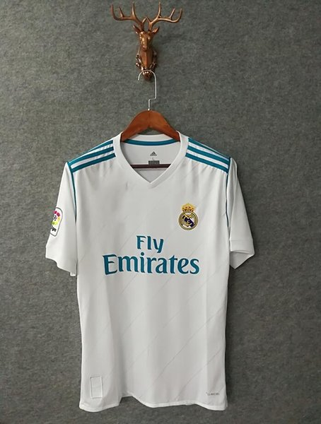 half off 9a14c ed972 2019 Thai Quality 17 18 Real Madrid Ronaldo Home Soccer Jersey 2017 2018  Modric Bale ASENSIO ISCO Champions League Special FINAL Football Shirt From  ...
