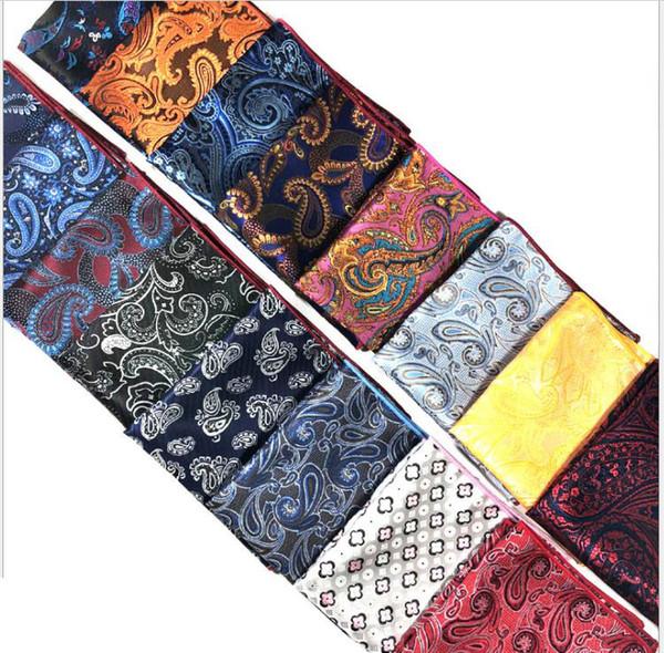 costume écharpe poche costume hommes costume de fleur de noix de cajou, écharpe poitrine, un mouchoir, un petit foulard carré