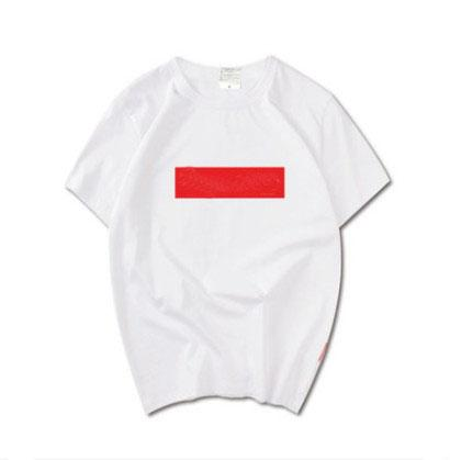 The latest high quality T-shirt fashion brand hip hop short sleeve pure cotton designer t-shirts for men and women