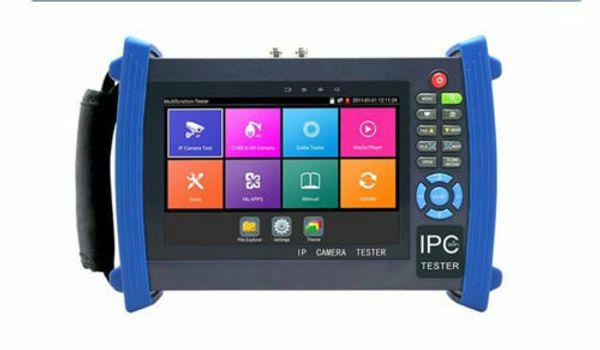 "7""Monitor 4K AHD+CVI+TVI+Analog+IP Camera Tester POE Wifi PTZ IPC-8600ADH Plus"