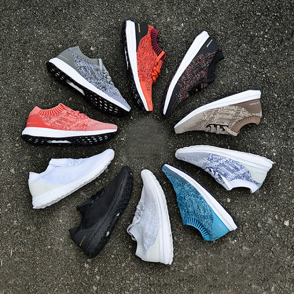 Designer 2019 Ultraboost 3.0 4.0 Sports Shoes Men Women High Quality Chaussures Ultra Boost Uncaged White Black Oreo Casual Luxury Sneakers