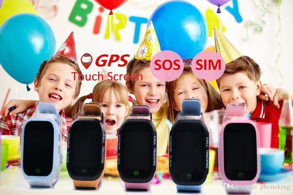 Mobile Protection Y21 GPS Children Smart Watch With Camera Flashlight Baby Watch SOS Call Location Device Tracker For Kid Safe