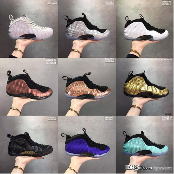 Großhandel Sneaker Neuheiten 2019 StockX Stock XFoamposite Schuhe Designer Espadrilles Roten Hosen Für Männer, Frauen, Turnschuhe Online Zu Verkaufen